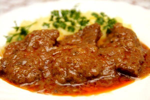 Hovädzie mäso v marináde |