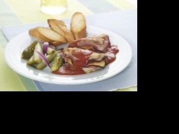 Kuřecí kapsy v neapolské omáčce  Recepty na každý den