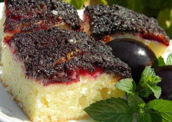 Slivkovo-makový koláč |