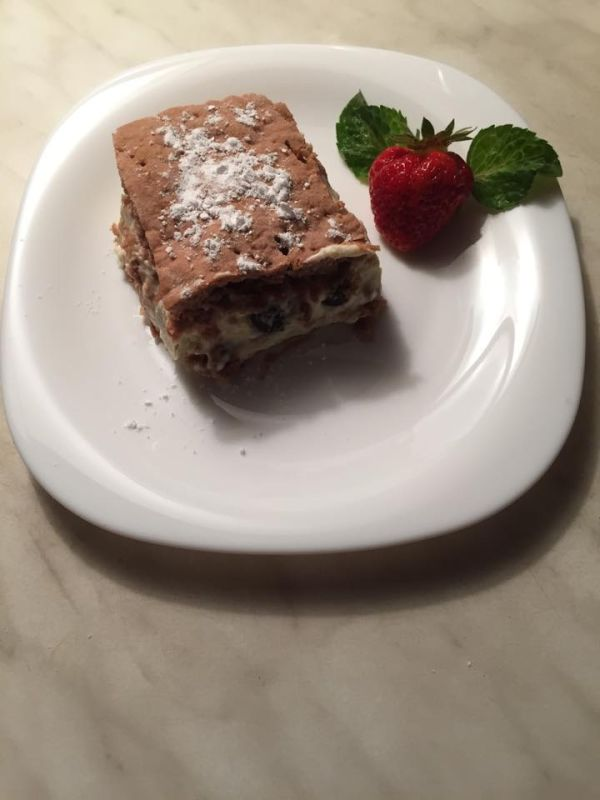 Čučoriedkovo-rebarborový koláč |