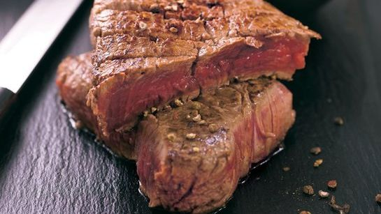 Marinovaný steak s čili |