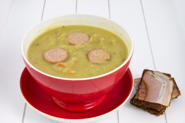 Holandská hrachová polievka |