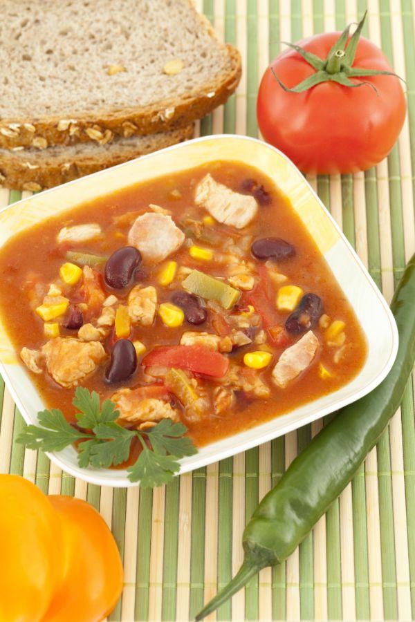 Mexická polievka |