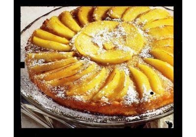 Chutný jablkový koláč |