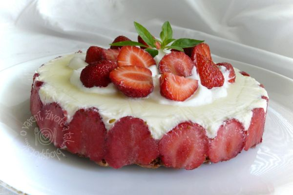 Jahodová mini torta |