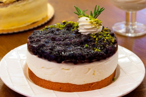 Čučoriedková torta |
