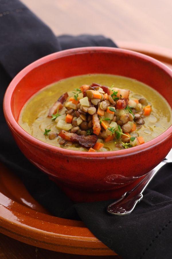 Šošovicová polievka so zeleninou |