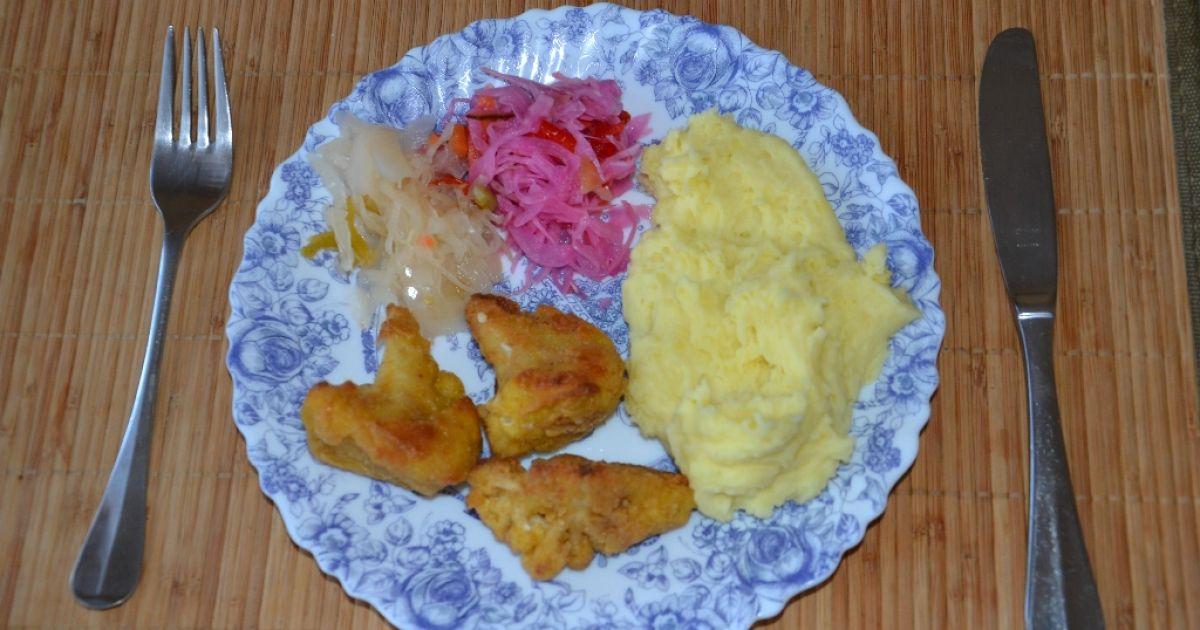 Vyprážaný karfiol na pekáči, fotogaléria 1 / 6.