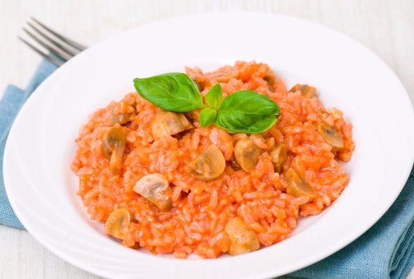 Miešané zeleninové rizoto |