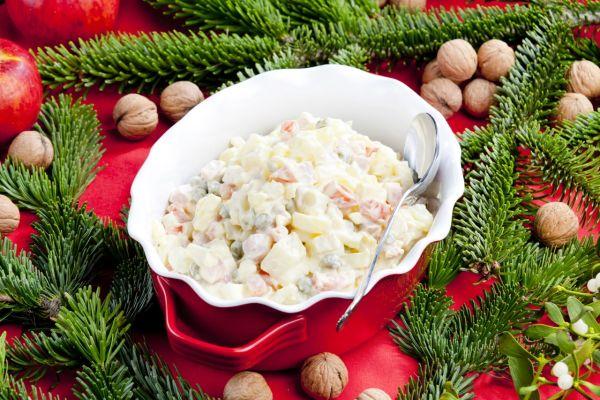 Vianočný zemiakový šalát |
