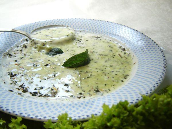 Zelerová polievka s mliekom |