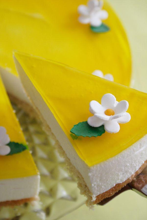 Nepečená citrónová torta |