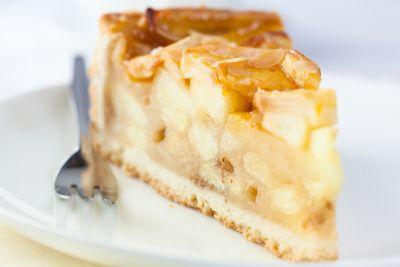 Linecký koláč s jablkami |