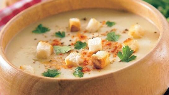 Kráľovská cesnaková polievka |