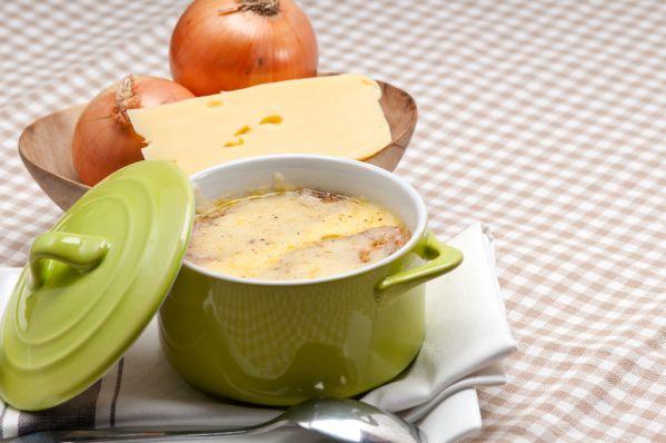 Polievka z taveného syra |