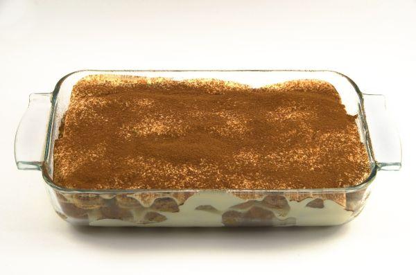 Nepečený piškótový koláč |