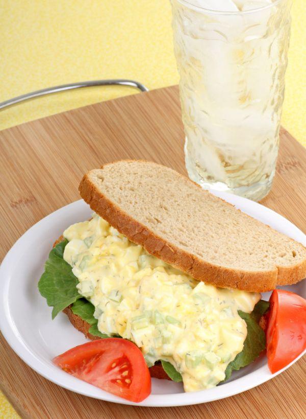 Vajcová nátierka so syrom |