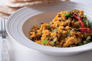 Řecký salát s cizrnou a rýží natural