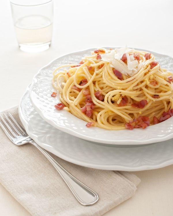 Spaghetti alla carbonara  banícke špagety |