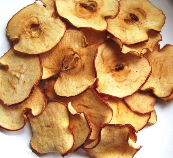 Zdravé chipsy zo sušených jabĺk |