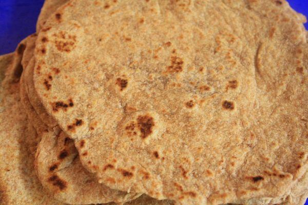 Domáce tortilly zo špaldovej múky |