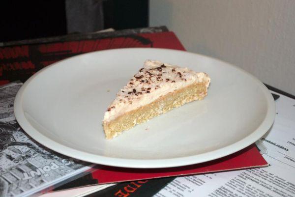 Kokosový cheese cake z tofu |
