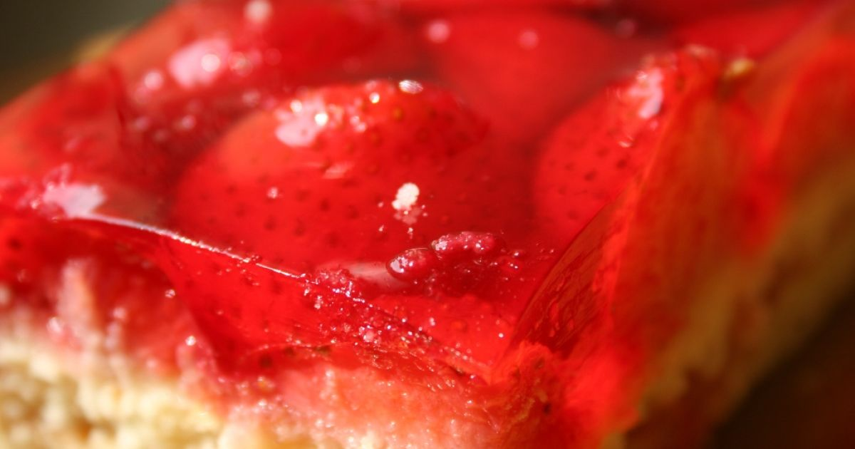 Jahodový koláč so želatínou, fotogaléria 2 / 1.