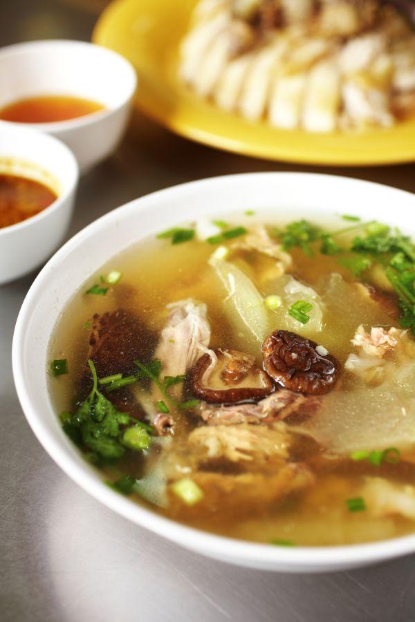 Čínska kuracia polievka |