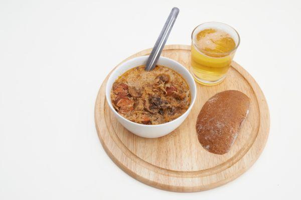 Kapustovo-šošovicová polievka |