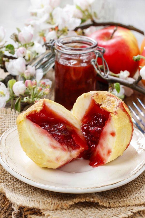 Plnené jablká  