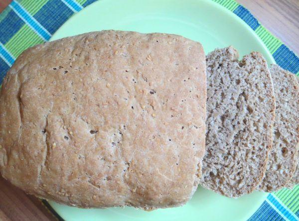 Citrónovo-sezamový chlieb zo špaldovej múky ...