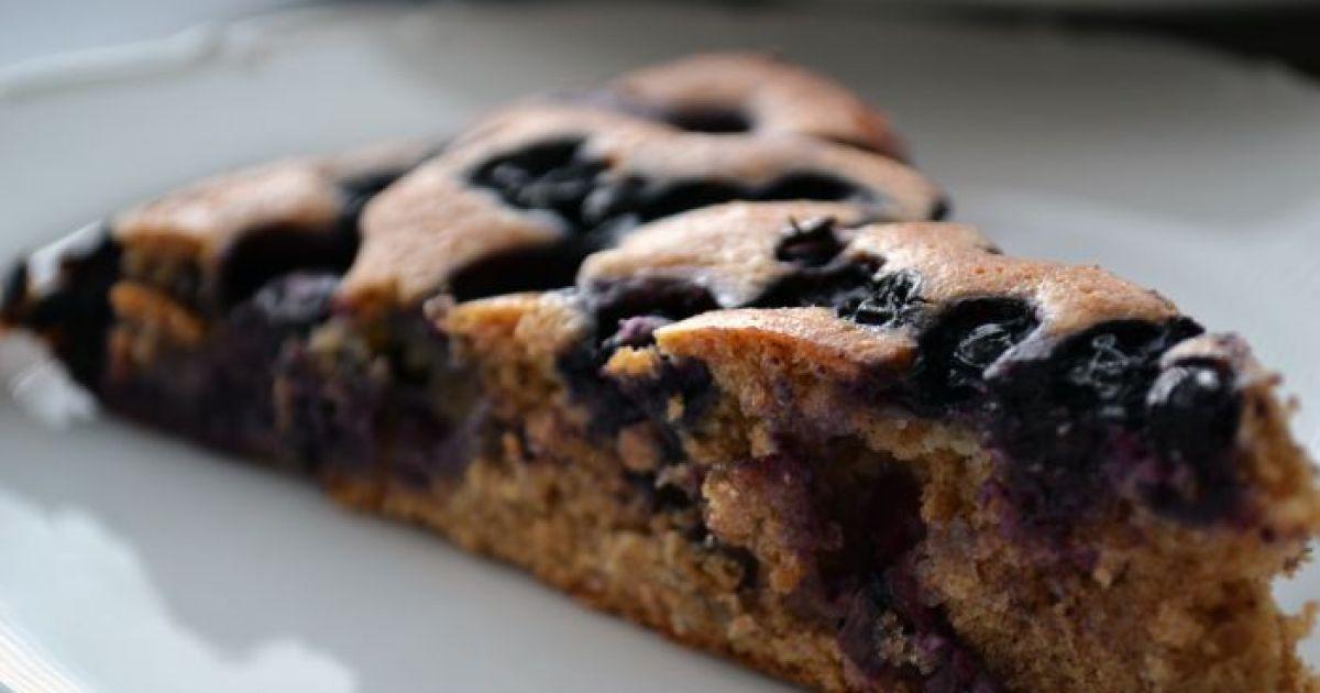Špaldový čučoriedkový koláč, fotogaléria 1 / 9.