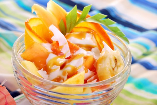 Pečené dezertné ovocie |