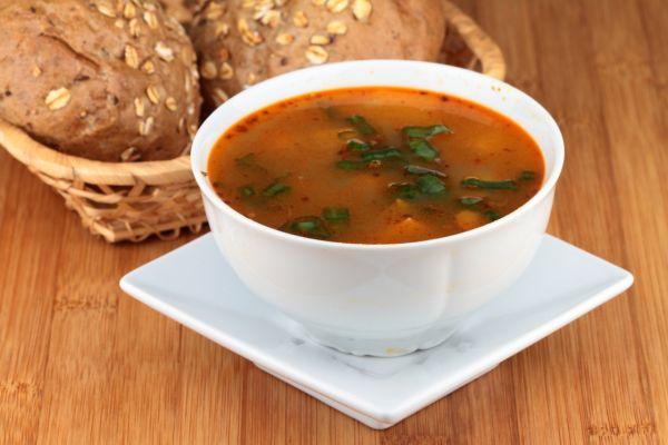 Gulášová polievka bez mäsa |