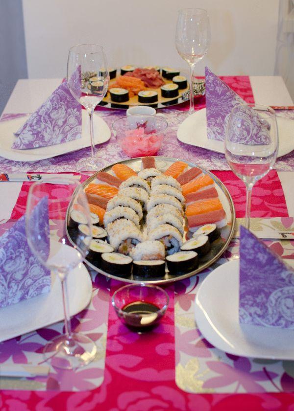 Sushi na tri spôsoby |