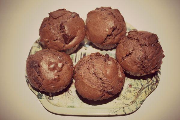 Čokoládové muffinky |