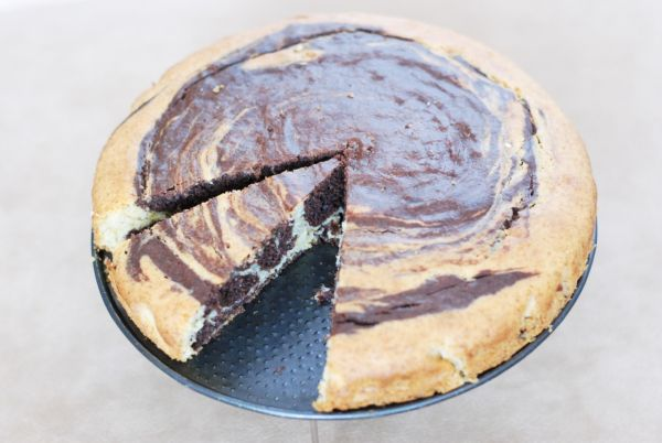 Špirálový špaldový koláč |