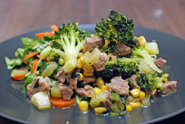 Diétne bravčové na špenáte s brokolicou  