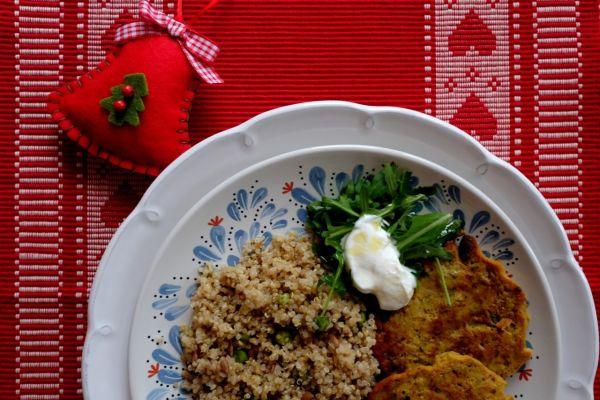 Vianočné placky a quinoa |