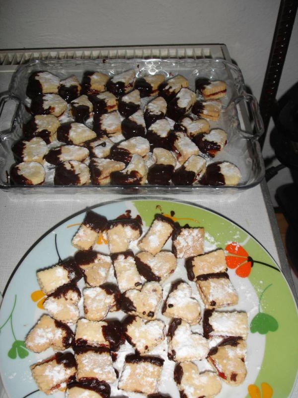 Krehké linecké koláče |