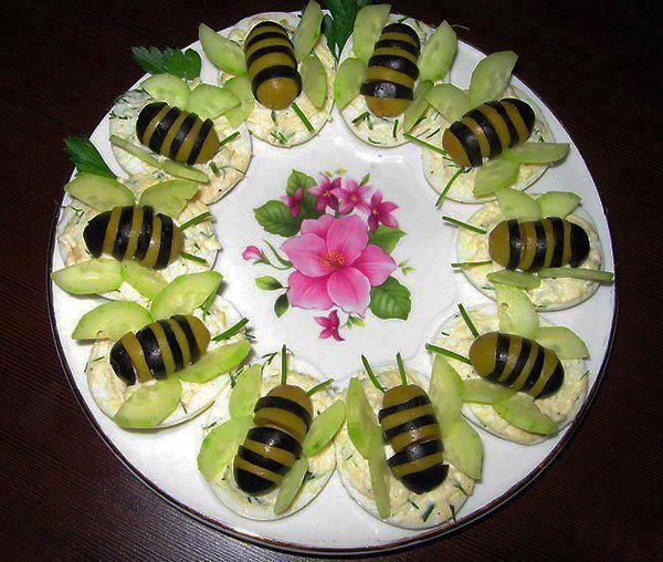 Včielková obložená misa |