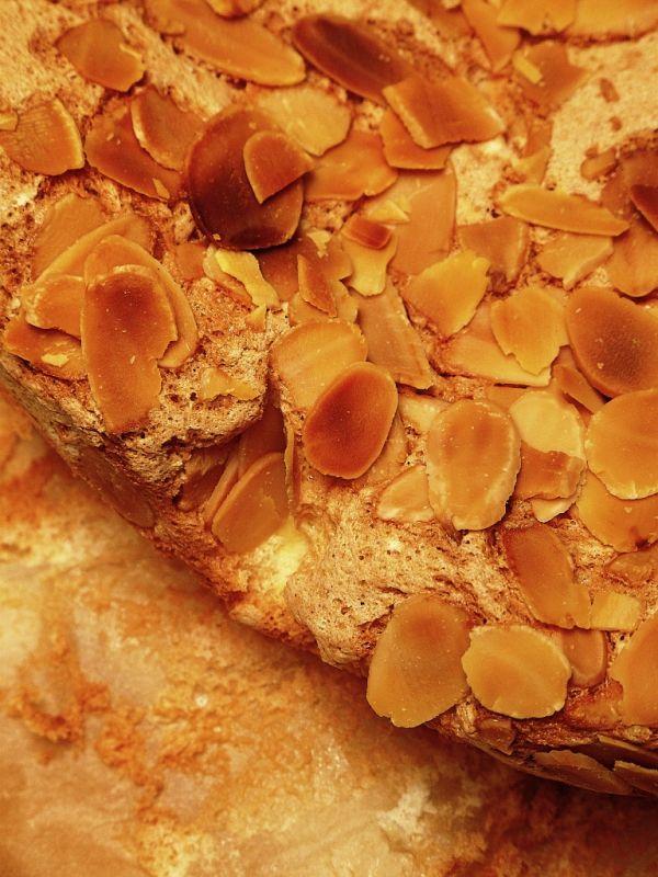 Mandľový koláčik |