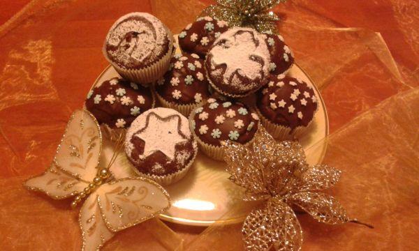 Vianočné perníkové muffiny |