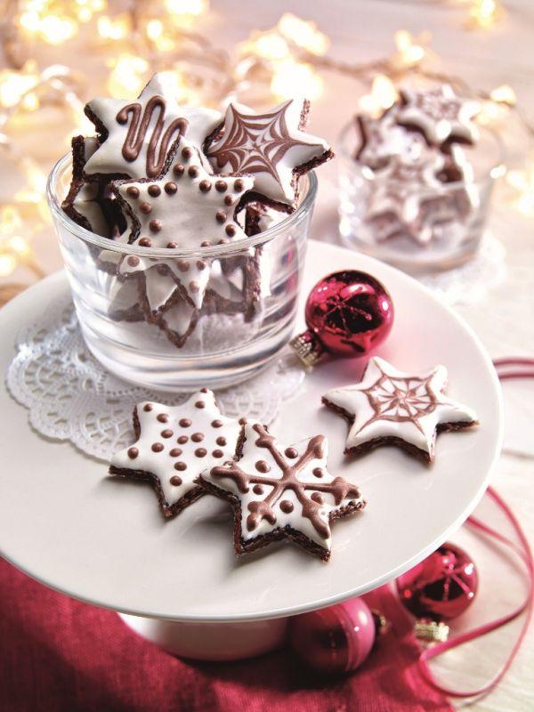 Mandľové kakaové hviezdičky |