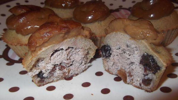 Bezlepkové muffiny so sladkou tofu plnkou |