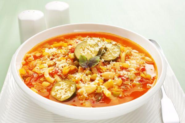 Talianska polievka Minestrone |