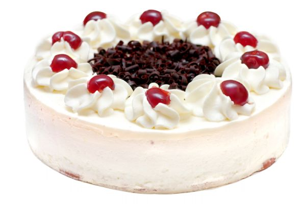 Zmrzlinová torta s čerešňami |