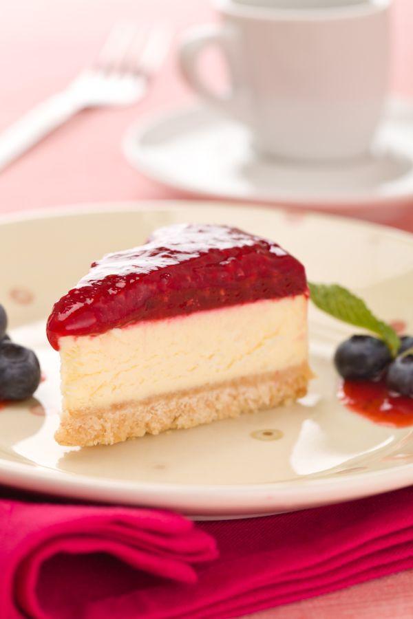 Malinový cheesecake |