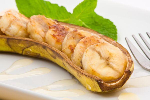 Banánové člnky |