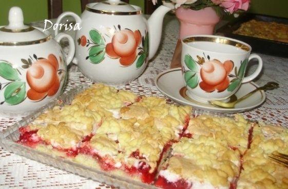 Grófkin koláč s ríbezľami |